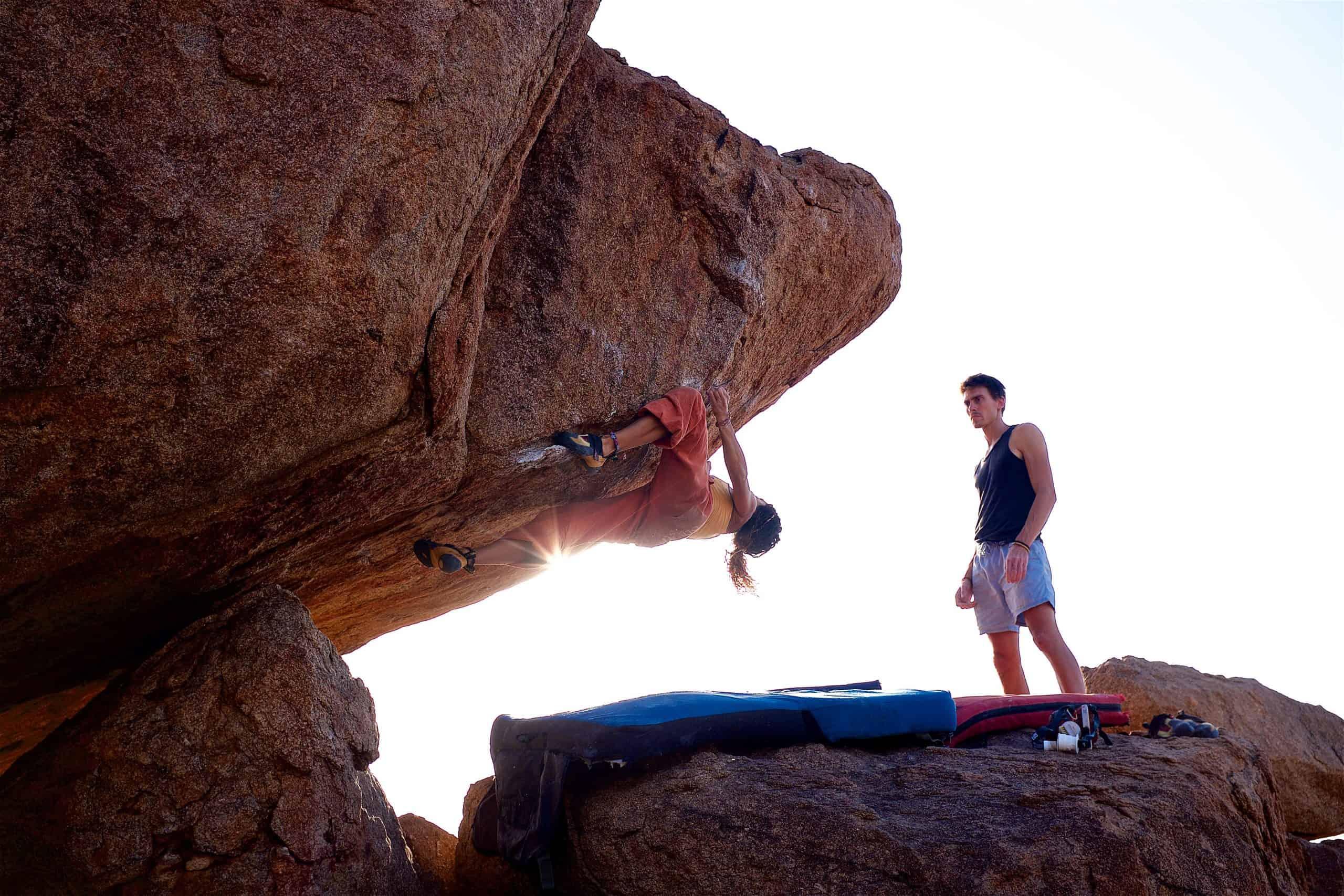 Beginners-climbing
